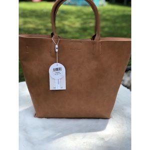 Urban Originals Beige Revange Large Shoulder Bag